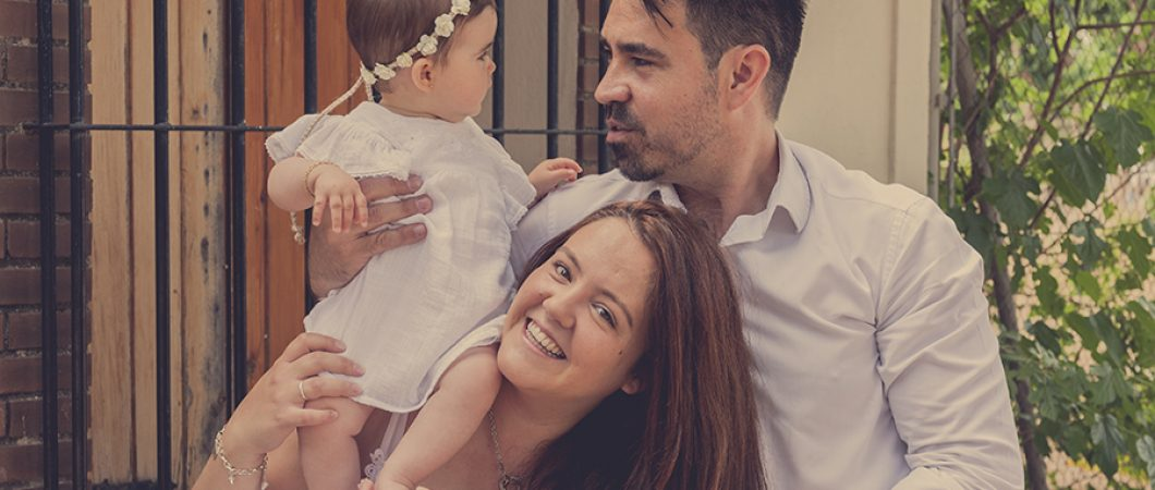 Reportajes fotográficos con la familia en exteriores