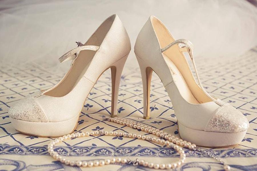 Zapátos de novia para bodas