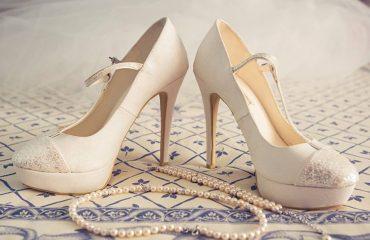 Zapatos novia tacón alto
