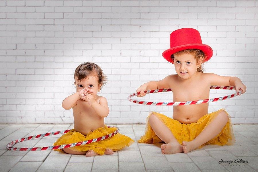 fotos niñas temática circo