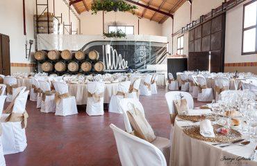 banquete boda en bodegas clos d'esgarracordes