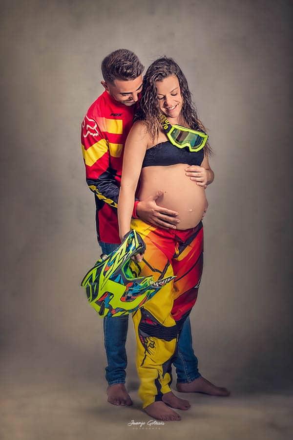 Sesiones embarazo motoristas